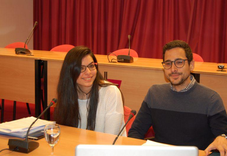 Jóvenes españoles participantes en el presínodo