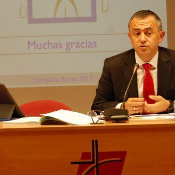 Fernando Giménez Barriocanal, vicesecretario de Asuntos Económicos de la Conferencia Episcopal Española