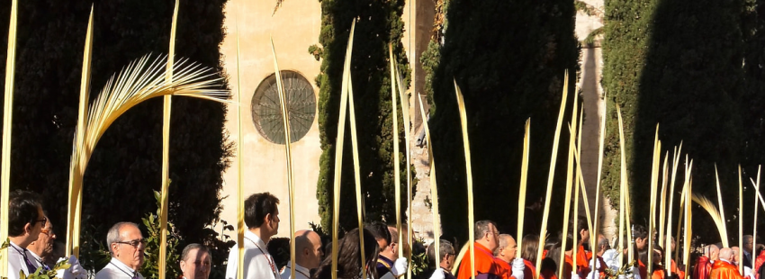 El domingo de ramos comienzo de la Semana Santa
