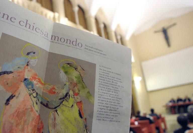 Presentación en Roma del suplemento mensual femenino de L'Osservatore Romano, Donne Chiesa Mondo