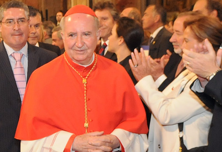 El cardenal Errázuriz opina sobre el obispo Barrios