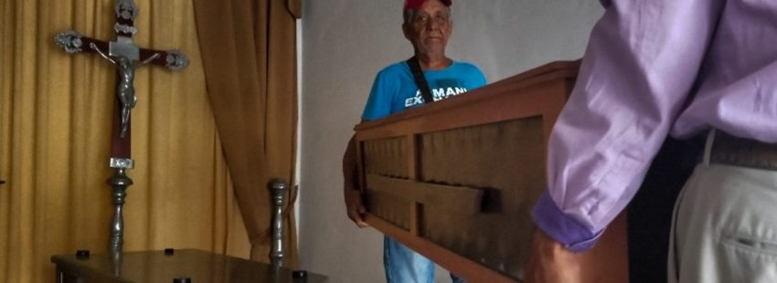 Velatorio de las víctimas de la Comandancia de Carabobo en Venezuela/EFE