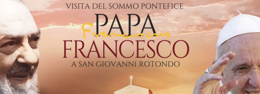 Francisco Visita San Giovanni Rotondo