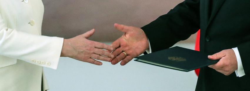 Angela Merkel elegida como Canciller alemana por cuarta vez