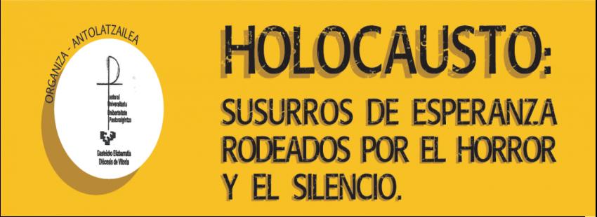 La diócesis de Vitoria organiza unas jornadas sobre el holocausto