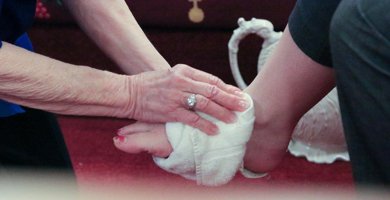 Lavatorio de pies el jueves santo
