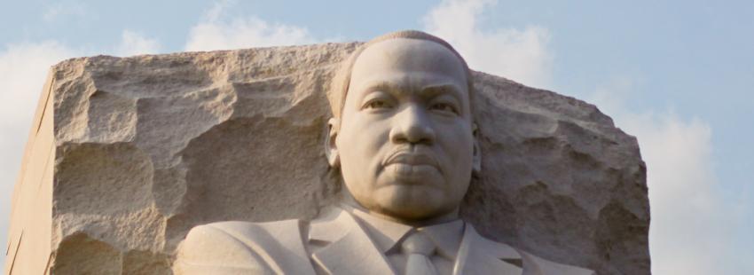 Monumento a Martin Luther King en EEUU
