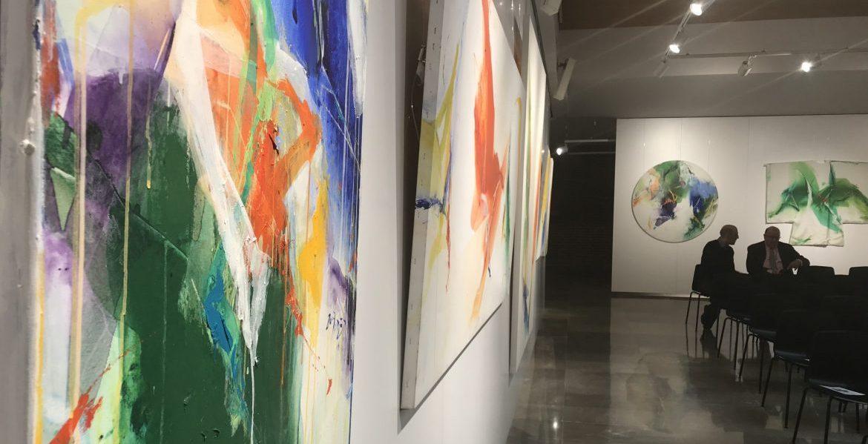 Algunas de las obras del dominico surcoreano Kin En Joong