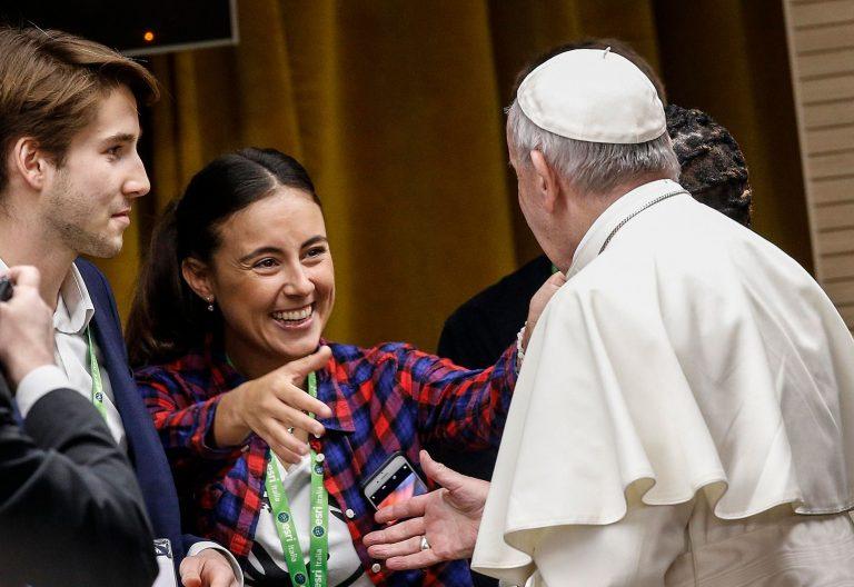El Papa Francisco en la Asamblea Plenaria del Presínodo de los jóvenes