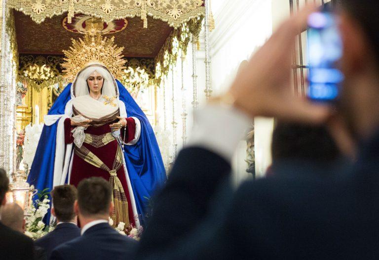 Imagen de un paso de Semana Santa
