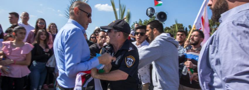 Israel veta la entrada de cristianos palestinos
