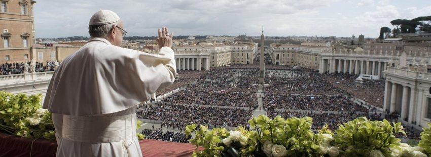 El papa Francisco celebra la misa del Domingo de Resurrección 2018 1 de abril