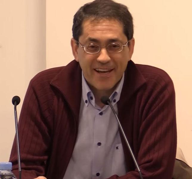 Eduard Ibáñez, presidente de la Comisión General Justicia y Paz de España