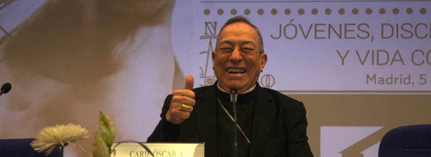 El cardenal arzobispo de Tegucigalpa en la 47ª Semana Nacional de Vida Consagrada