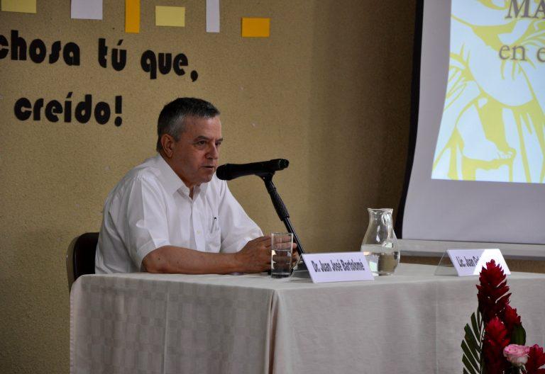 El salesiano Juan José Bartolomé