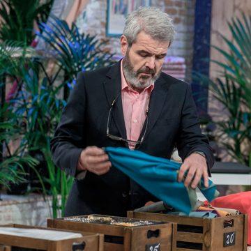 Lorenzo Caprile, modista y jurado de 'Maestros de la Costura', en TVE