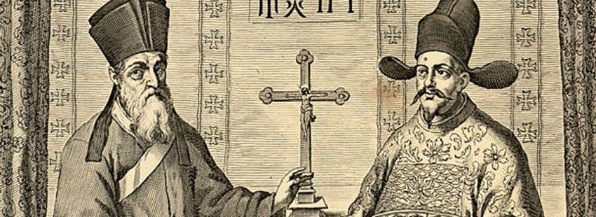 Matteo Ricci y Diego de Pantoja, misioneros jesuitas en China