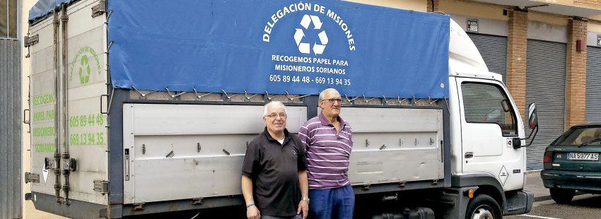 La diócesis de Osma-Soria, un ejemplo en el reciclaje de papel