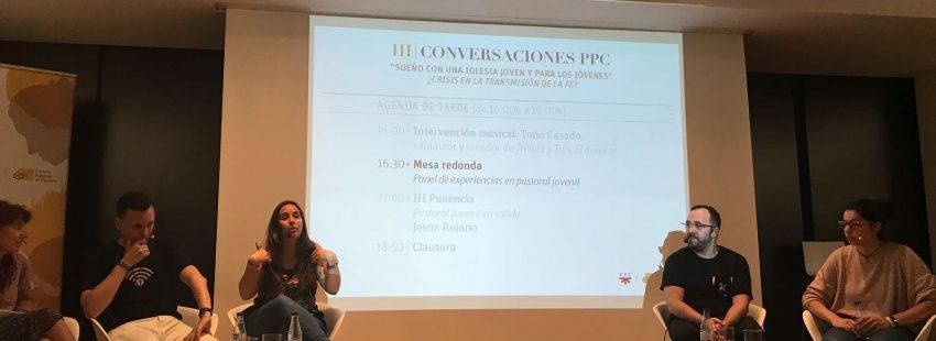 Raquel Lara, Dani Pajuelo, Toño Casado y Cristina Cons, en las III Conversaciones PPC