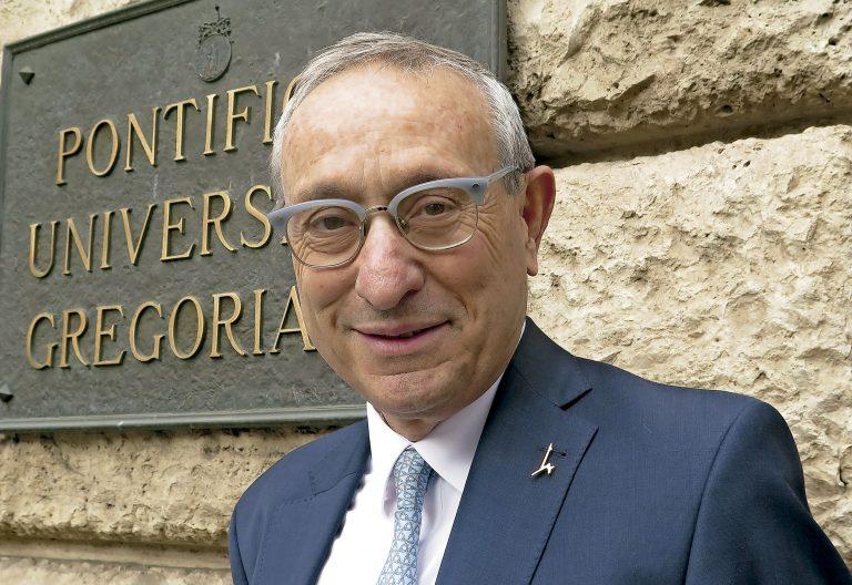 El canciller de la Universidad Hebrea de Jerusalén Menahem Ben-Sasson