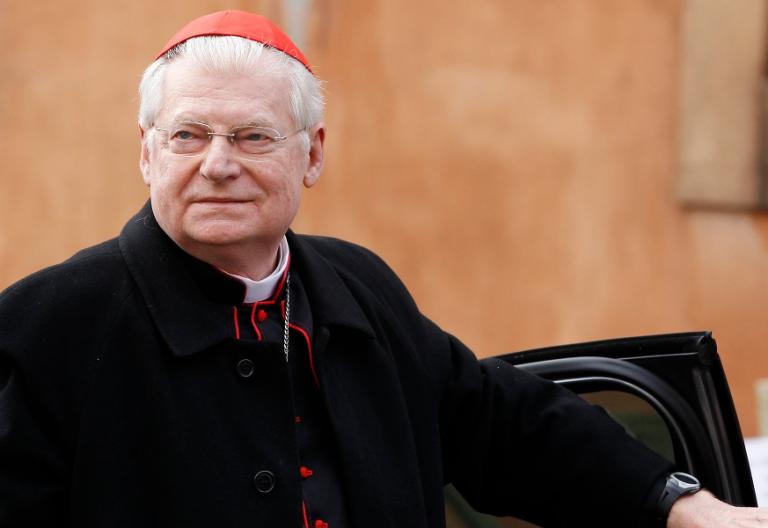 El arzobispo emérito de Milán, Angelo Scola