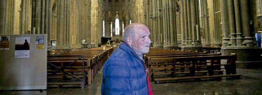 El escultor Antonio López realizará una talla de Cristo en la Cruz para la catedral de Vitoria