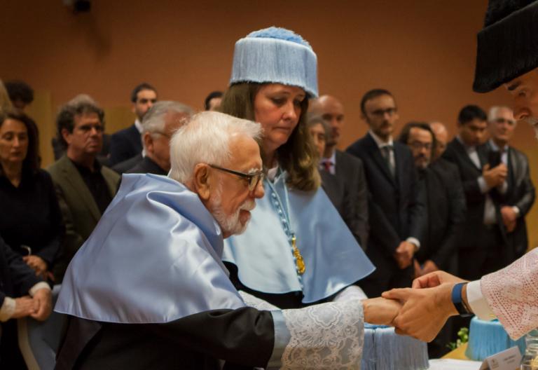 El jesuita Bartomeu Melià recibe el doctorado Honoris Causa de la Universidad Pontificia de Comillas