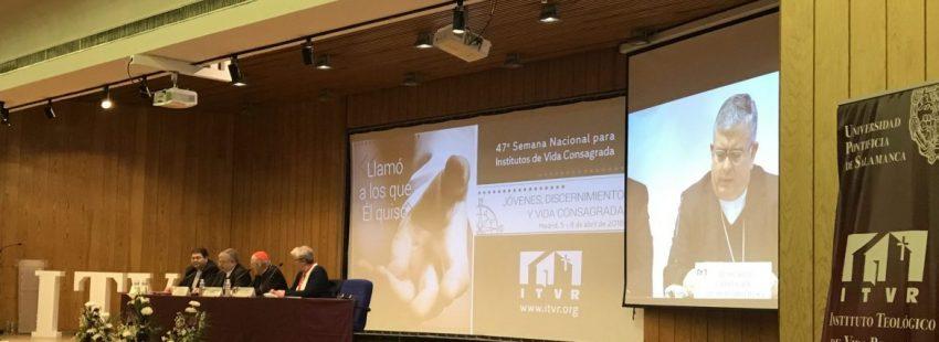 José Rodríguez Carballo, en la 47 Jornada Nacional de Vida Consagrada en Madrid
