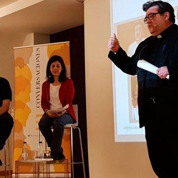 Raúl Tinajero, Vicente Esplugues y Teresa Comba, en las III Conversaciones PPC