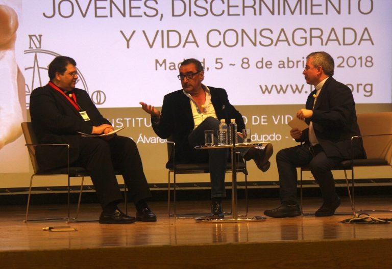 El locutor de COPE, Carlos Herrera, en la Semana Nacional de Vida Consagrada del Instituto Teológico Vida Religiosa abril 2018