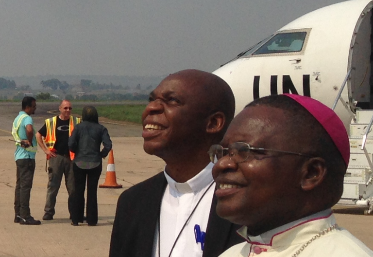 El presidente de la conferencia episcopal de la República Democrática del Congo