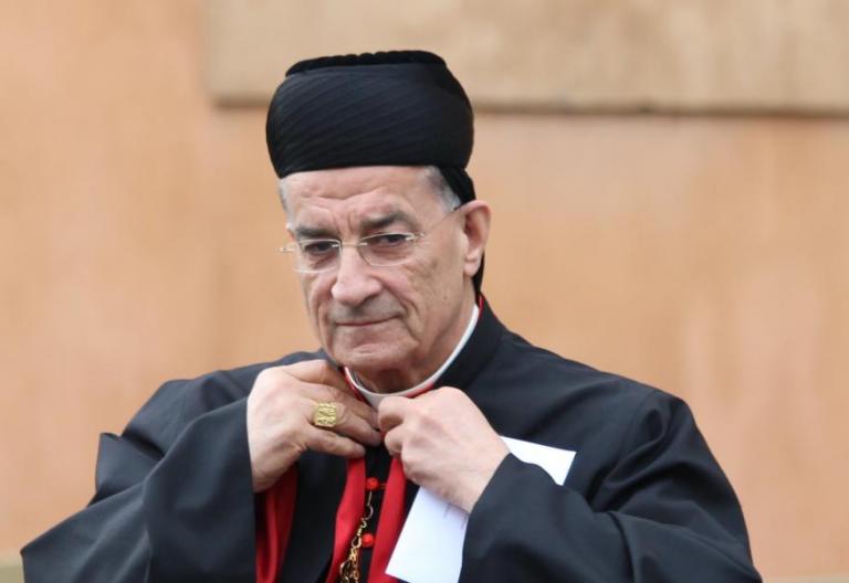 Boutros Raï, patriarca de la Iglesia Maronita