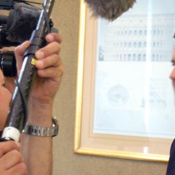 Juan Carlos Cruz, víctima de los abusos del sacerdote chileno Fernando Karadima