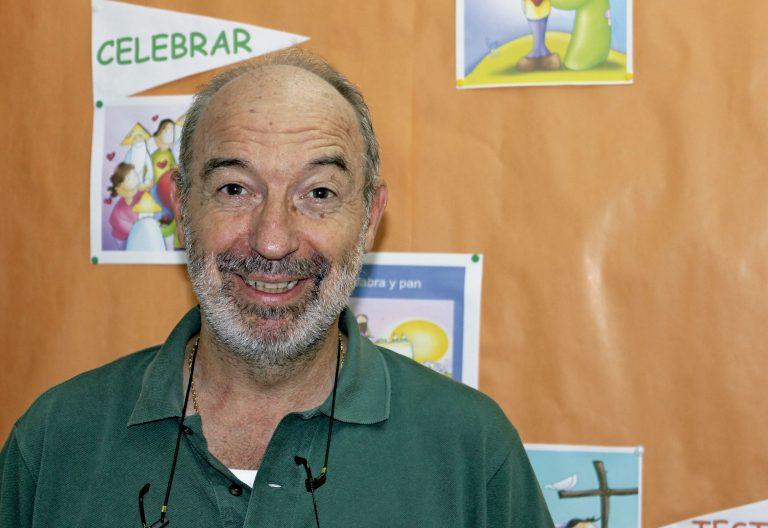 El jesuita Manu Arrue es el responsable de Paz y Reconciliación de la Diócesis de Bilbao