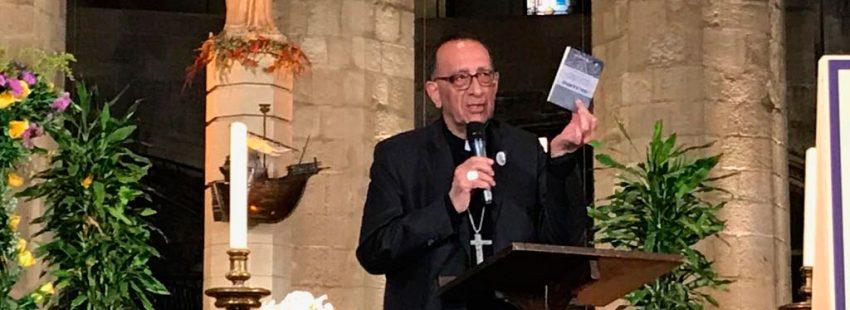 El cardenal arzobispo de Barcelona, Juan José Omella, presenta el plan pastoral abril 2018
