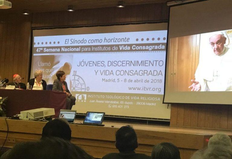 El cardenal Carlos Osoro, en la apertura de la 47 Jornada de Vida Consagrada en Madrid