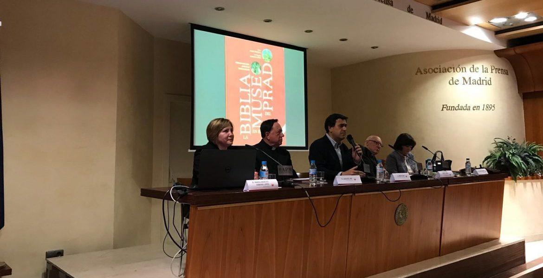 """Presentación en Madrid del libro """"La Biblia en el Museo del Prado"""""""