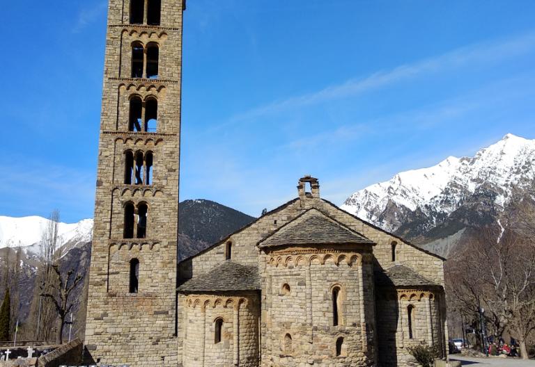 El conjunto de iglesias románcias del Valle del Boí son Patrimonio mundial por la UNESCO