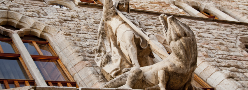 Fiesta de San Jorge en Aragón, Catalunya y Valencia