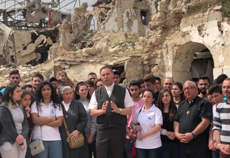 Ángel Fernández Artime envía un mensaje de Paz desde la ciudad Siria de Alepo