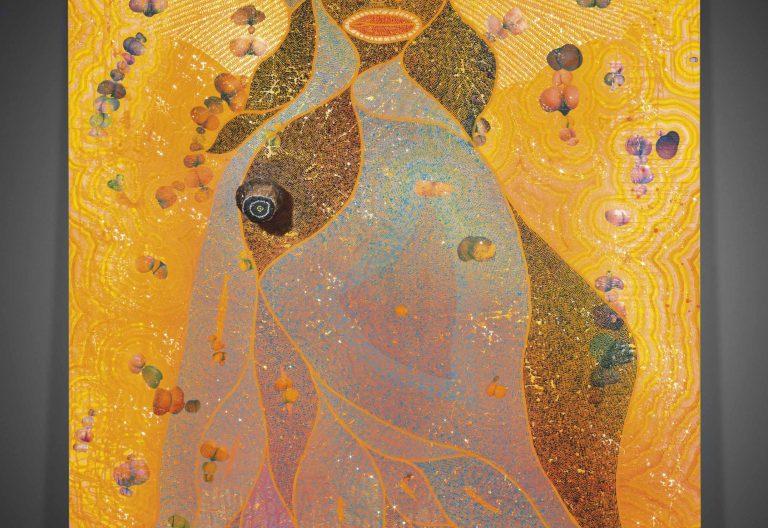 Virgen africana de Chris Ofili para el blog de fernando Vidal