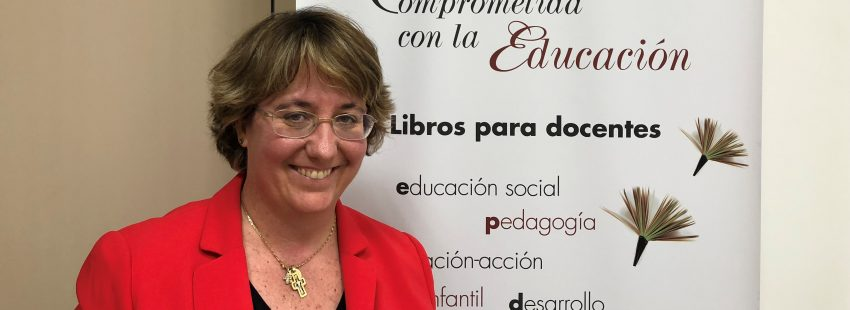 Mónica González, directora de Narcea Ediciones