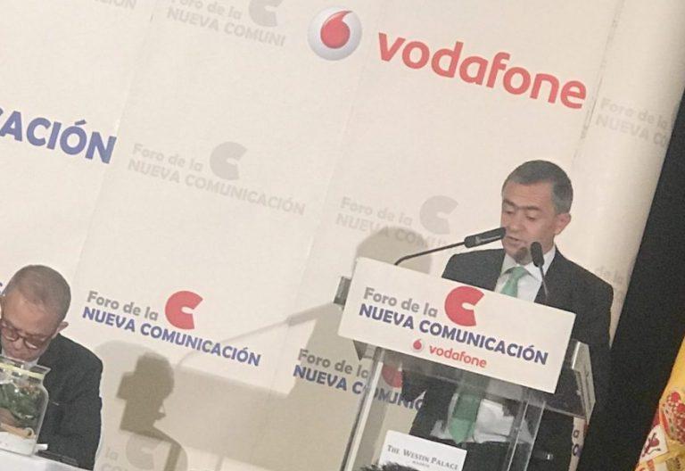José María Gil Tamayo y Fernando Giménez Barriocanal en el Foro de la Nueva Comunicación