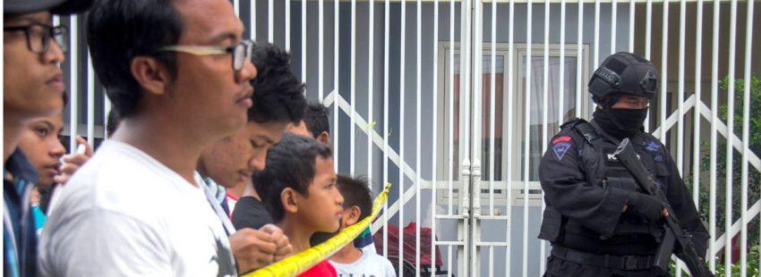 Atentado en Indonesia