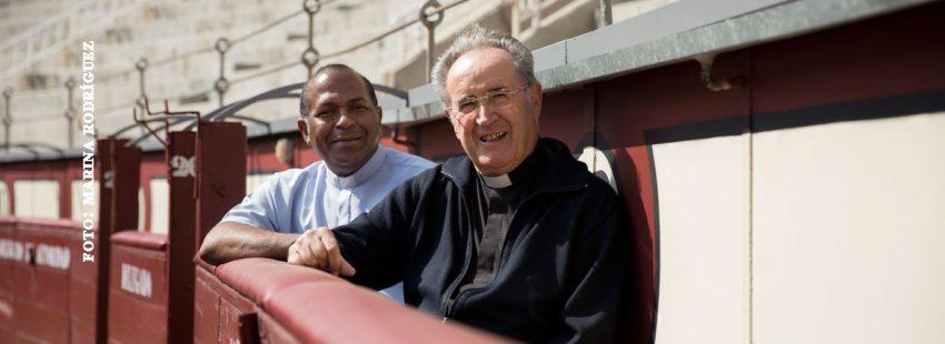 Toros en Las Ventas: Elkin Jesús Palacios y Cruz Goñi. Foto: Marina Rodríguez