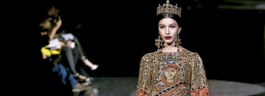 Dolce&Gabanna presenta su colección inspirada en la fe católica