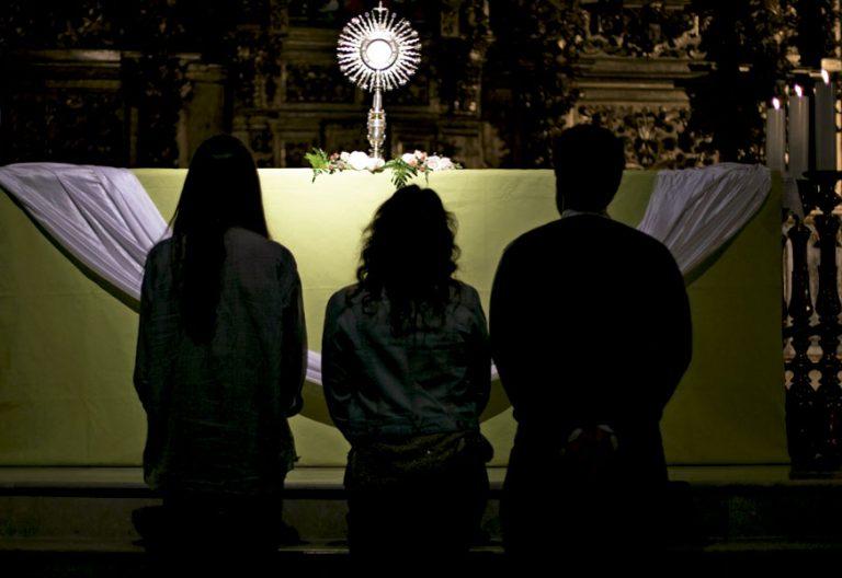 Centinelas de la mañana, grupo instalado en España y nacido en Italia. Foto: Iglesia en Valladolid