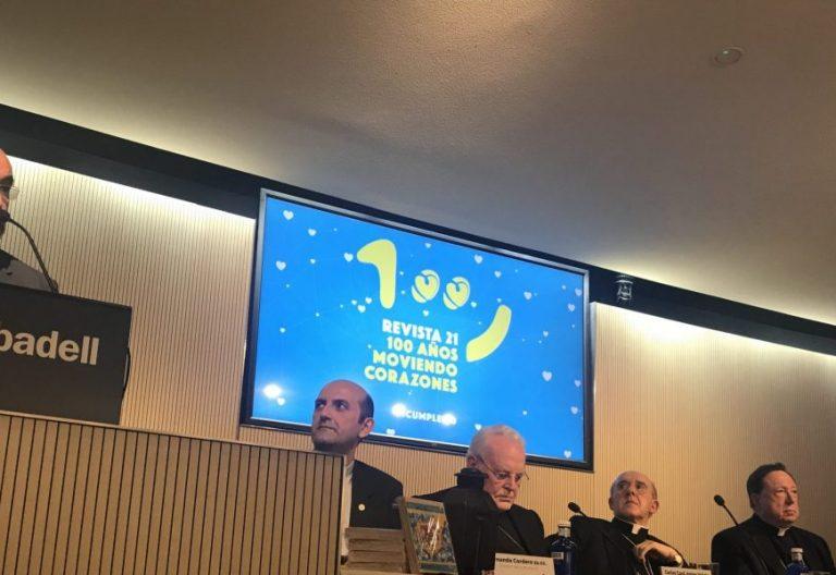 Celebración del centenario de la revista 21