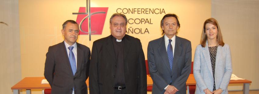 La Conferencia episcopal firma un acuerdo con Transparencia Internacional