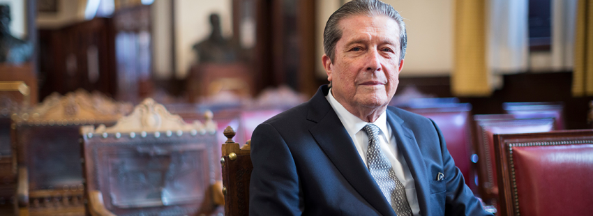 Federico Mayor Zaragoza presenta el libro Recuerdos para el porvenir (PPC)